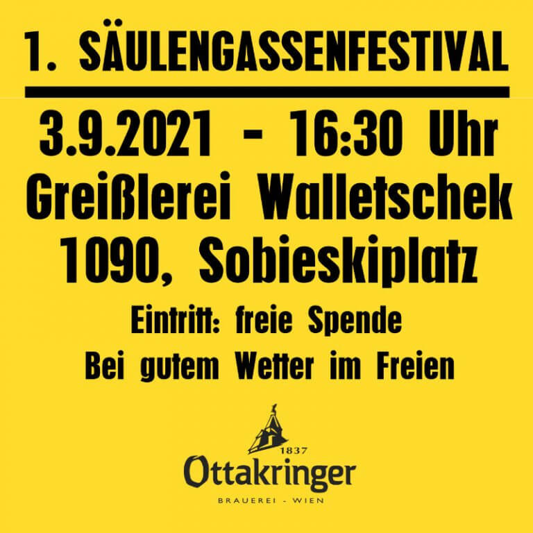 Read more about the article 1. Säulengassenfestival