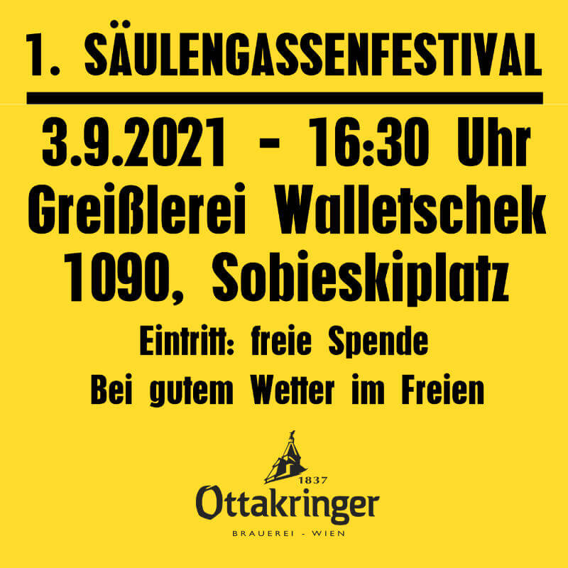 You are currently viewing 1. Säulengassenfestival